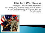 Civil War Course