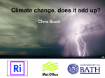 Climate Change: Does it all add up? (Yr 12