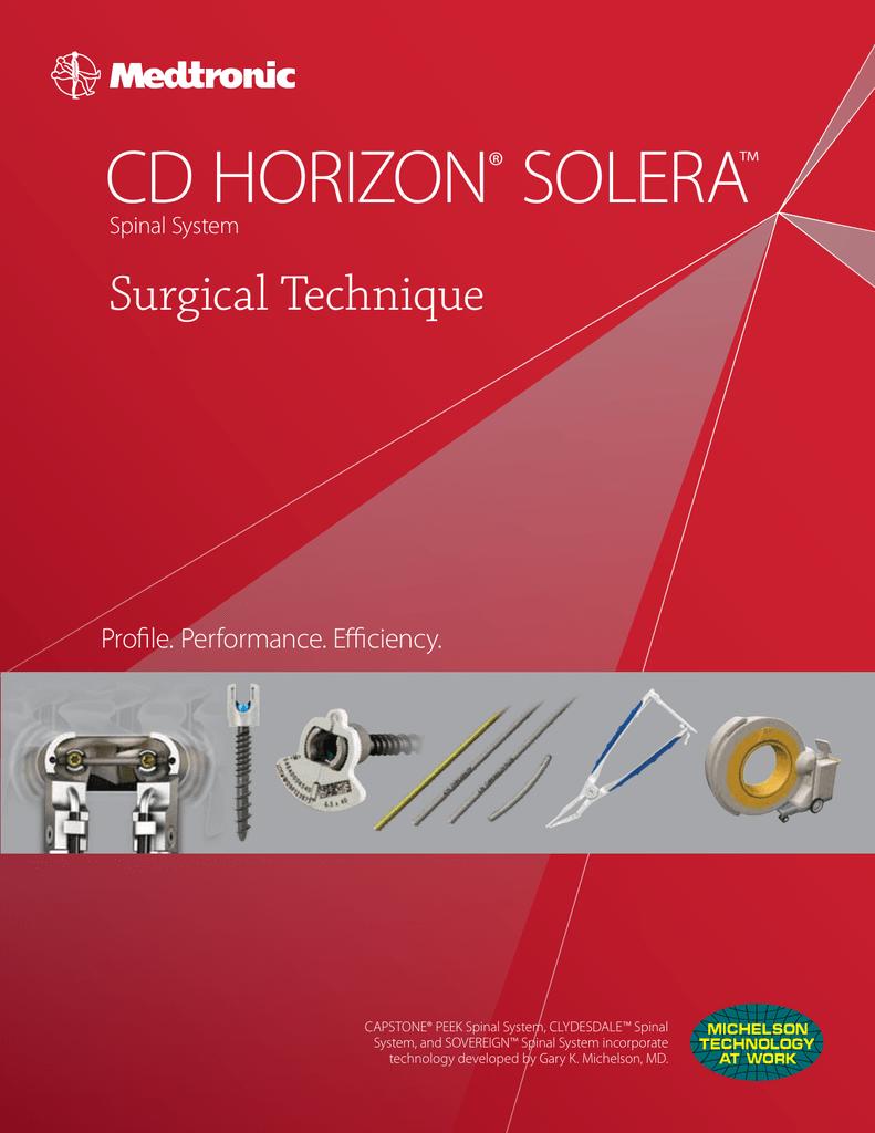 CD HORIZON® SOLERA™