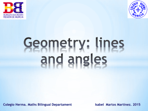 S1 Lines, angles and polygons
