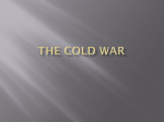 The Cold War Cold War