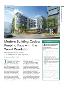 Modern Building Codes: Keeping Pace with the