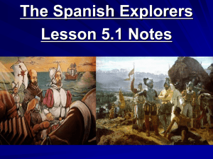 Explorers in TX Notes