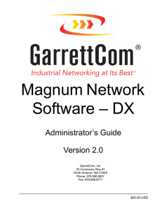 Magnum Network Software – DX