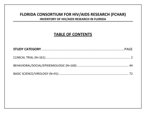 HIV Research Inventory