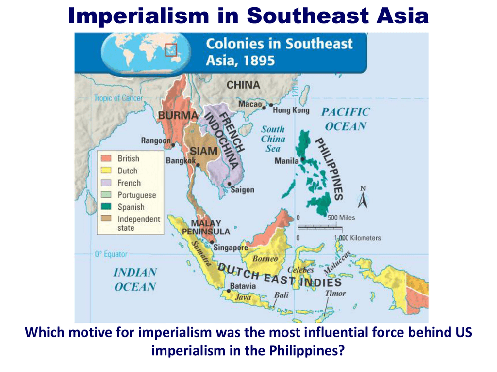 Map Of Asia During Imperialism.Imperialism In Southeast Asia