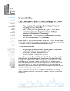 CTBUH Names Best Tall Buildings for 2014