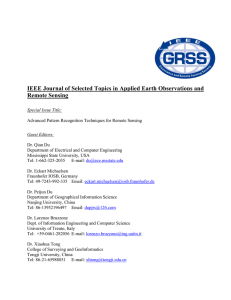 IEEE Journal of Selected Topics in Applied Earth