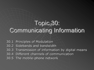 30.4: Channels of Communications