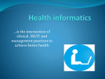 Health informatics2 - blog4healthcommunicationandadvocacy