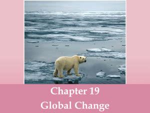 Ch 19 Climate Change PPT
