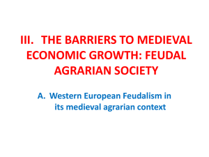 iii. the barriers to economic growth: the structure
