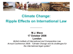 Climate Change - British Institute of International and Comparative
