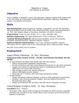 Resume - Stephen A. Fuqua