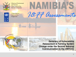 Climate Change Vulnerability and Adaptation Namibia