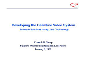 Developing the Beamline Video System Software Solutions using