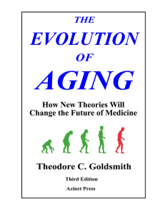 The Evolution of Aging 3