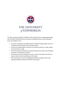Sinfield2014 - Edinburgh Research Archive