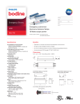 Spec - Philips Bodine