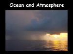 Ocean and Atmosphere