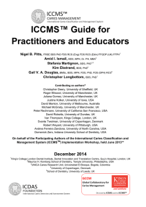 ICCMS™ Guide for Practitioners and Educators