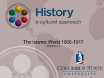 The Islamic World and India, 1600-1917