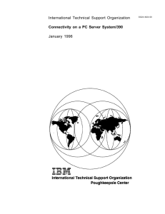 International Technical Support Organization Connectivity on a PC