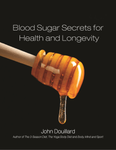 Blood Sugar Secrets for health and longevity