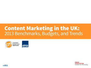 Content Marketing in the UK - Content Marketing Institute