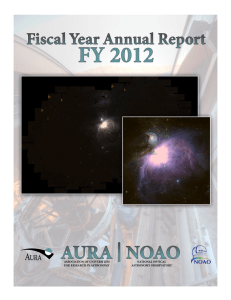 FY12 - National Optical Astronomy Observatory