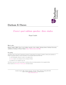 three studies - Durham e-Theses