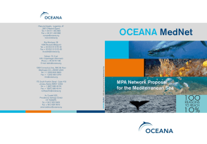 MPA Network proposal for the Mediterranean Sea
