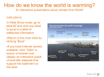 Warming World Interactive