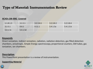 Instrumentation Review