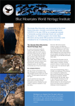 Blue Mountains World Heritage Institute