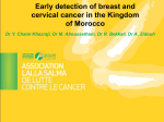 Early detection of breast and cervical cancer in the Kingdom of