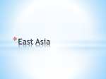 Ch_ 10 East Asia