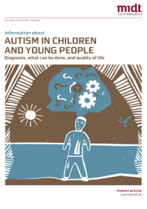 autism in children and young people