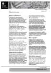 Melioidosis Fact Sheet from Northern Territory