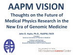 AAPM Vision