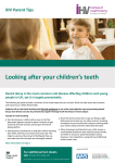 Looking after your children`s teeth