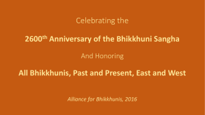 6th-Annual-IBD - Alliance for Bhikkhunis