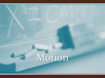 Motion - RoncalliPhysics