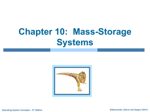 Chapter 10: Mass-Storage Systems