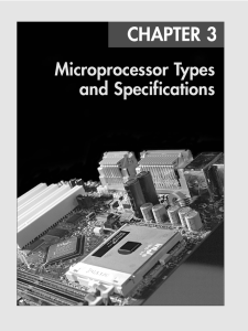 Microprocessor Types and Specifications