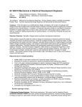 120803-1 Mechanical Design Engineer