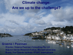 Dr Graeme Pearman`s Presentation from the Sept 2010