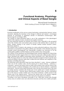 Functional Anatomy, Physiology and Clinical Aspects of Basal Ganglia