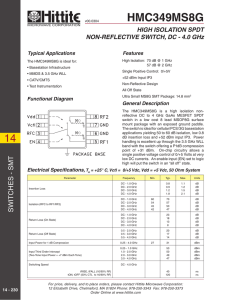HMC349MS8G - SeekDataSheet