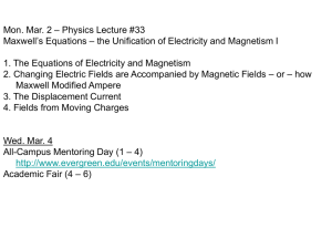 Physics Lecture #33 - WordPress for academic sites @evergreen